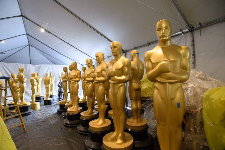 Preparations continue Tuesday, February 21, 2017 for the 89th Oscars® for outstanding film achievements of 2016 which will be presented on Sunday, February 26, 2017 at the Dolby® Theatre and televised live by the ABC Television Network.