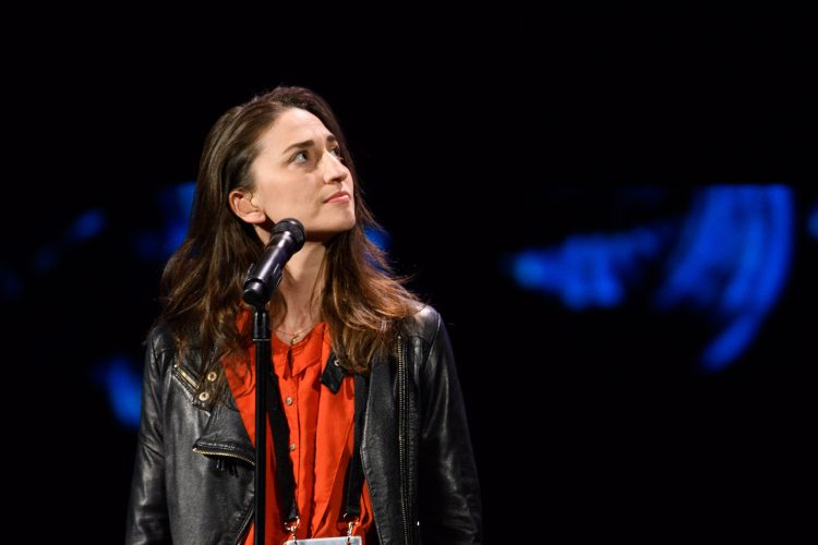 Sara Bareilles rehearses, as preparations continue Friday February 24, 2017 for the 89th Oscars® for outstanding film achievements of 2016 which will be presented on Sunday, February 24, 2017, at the Dolby® Theatre and televised live by the ABC Television Network.