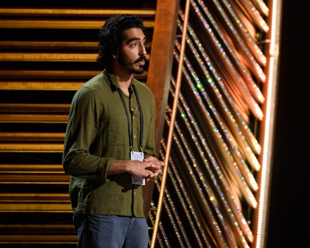 Dev Patel rehearses as preparations continue Saturday February 25, 2017 for the 89th Oscars® for outstanding film achievements of 2016 which will be presented on Sunday, February 26, 2017, at the Dolby® Theatre and televised live by the ABC Television Network.