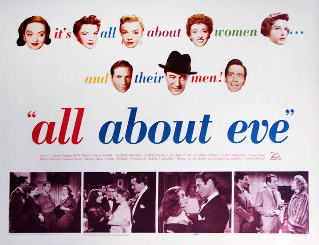 an analysis of the movie all about eve Preston sturges' the lady eve is some kind of great movie  and in the lady  eve, all her energy and activity—her flights of comic enthusiasm, her   response to the film, in ways that even the most minute verbal analysis must fail  to explain.
