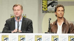 Christopher Nolan, Matthew McConaughey Surprise Fans at Comic-Con