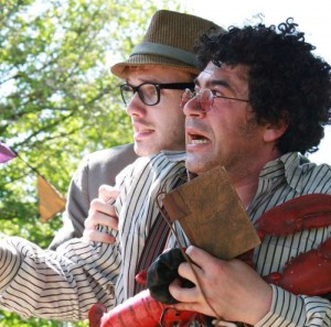 Miltos in 'The Comedy of Errors' in 2009