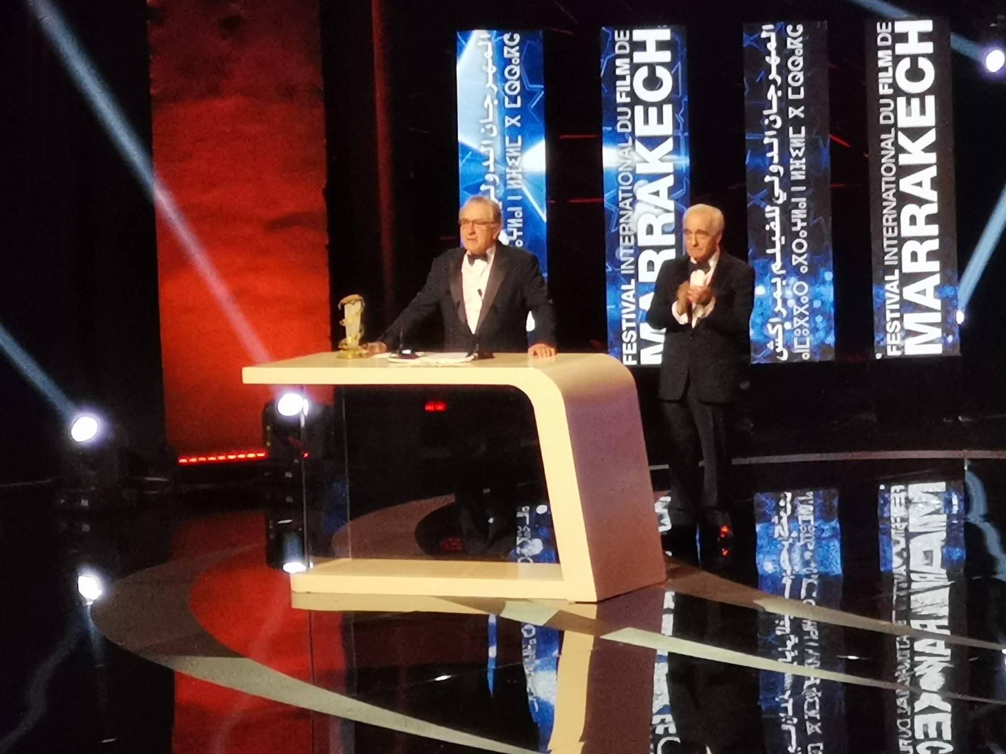 Robert De Niro Martin Scorsese FIFM2018