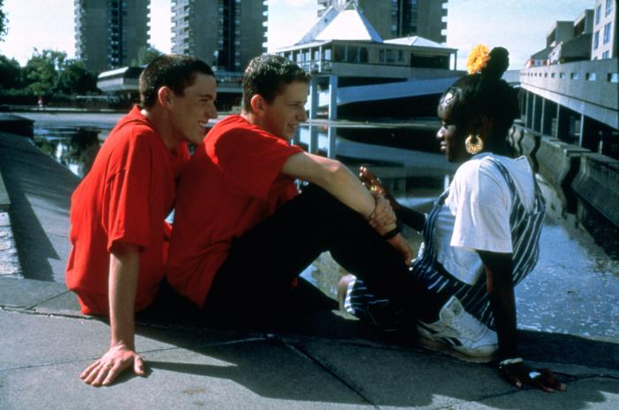 BEAUTIFUL THING, Scott Neal, Glen Berry, Tameka Empson, 1996, (c) Sony Pictures Classics