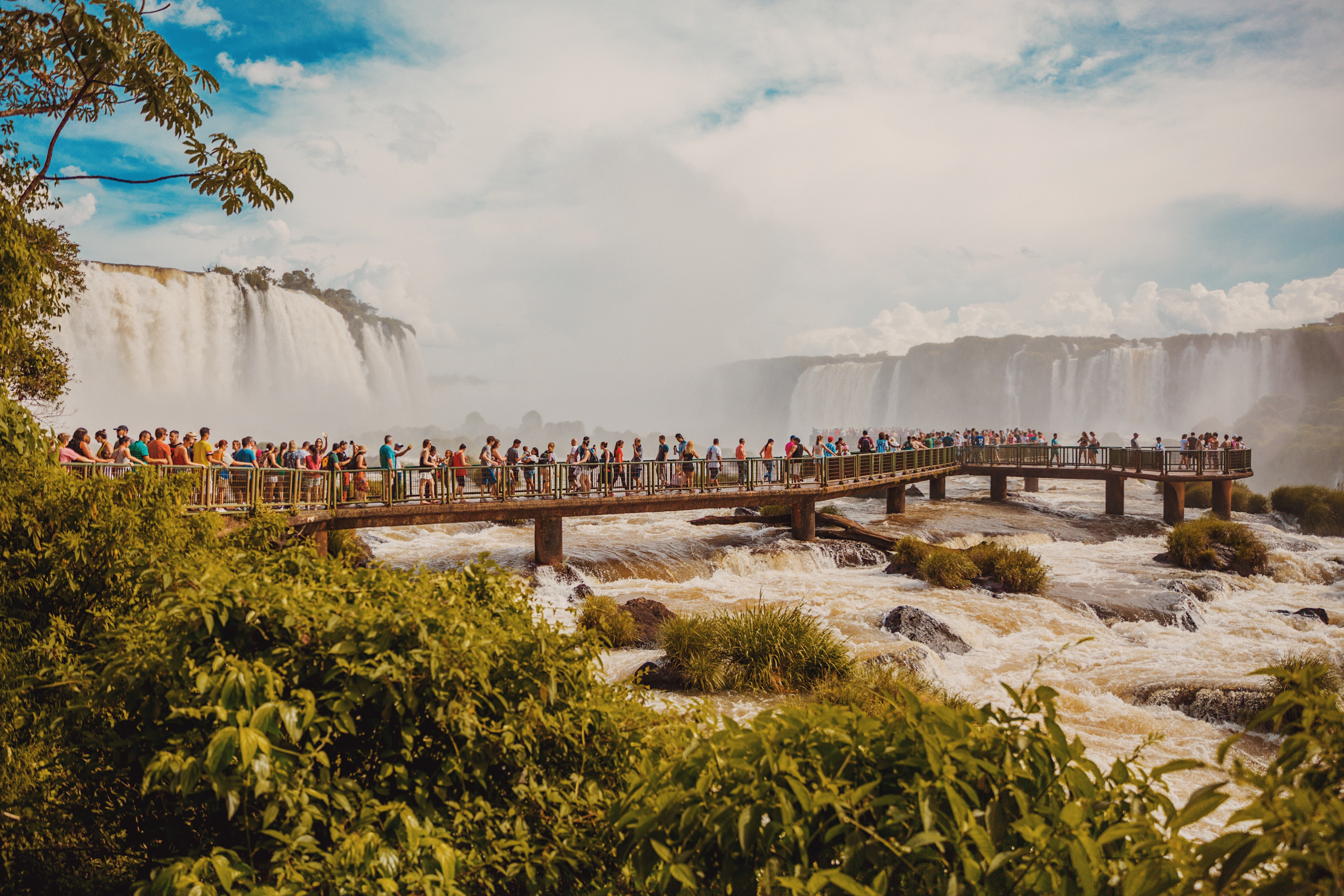 Black Panther – Argentina's Iguazu Falls