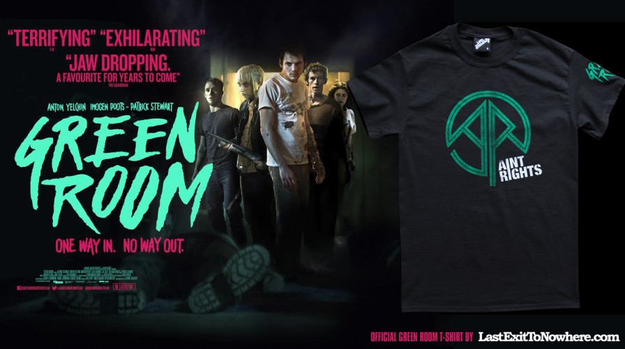 GREEN ROOM AINT RIGHTS TSHIRT PROMO UK