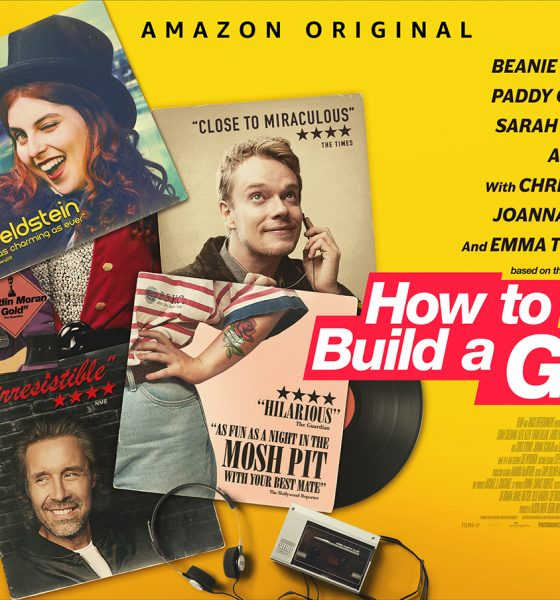 How To Build A Girl Poster