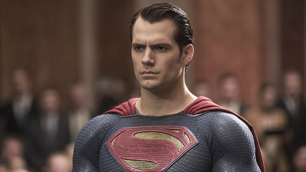 Henry Cavill Superman Movie Marker