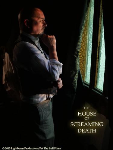William Solomon (Troy Dennison) awaits The Lady In Grey