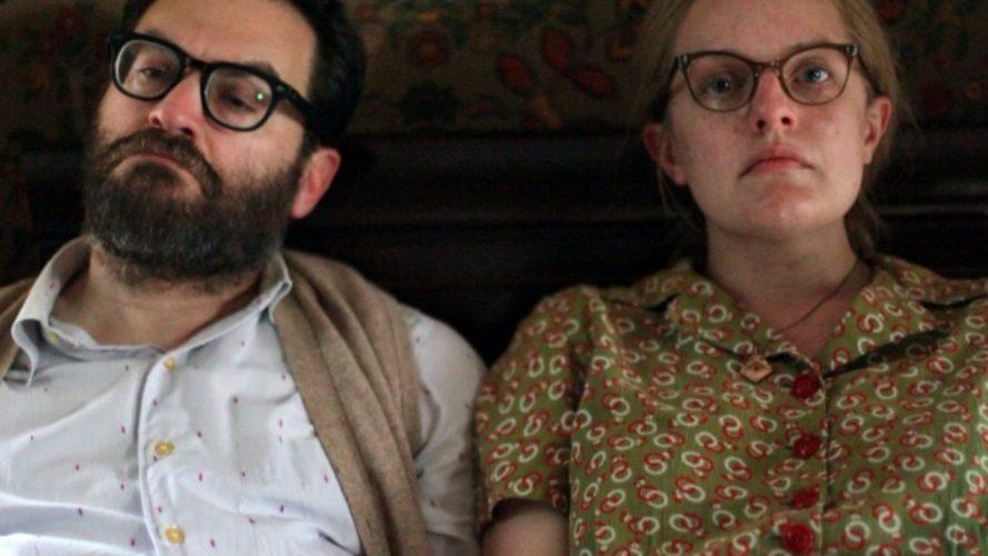 elisabeth moss and michael stuhlbarg inShirley (2020)