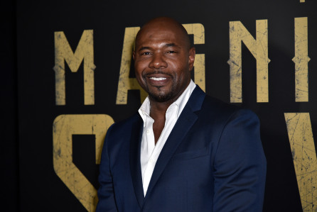 Mandatory Credit: Photo by Rob Latour/REX/Shutterstock (5636106ax) Antoine Fuqua Sony Pictures presentation at CinemaCon, Las Vegas, America - 12 Apr 2016