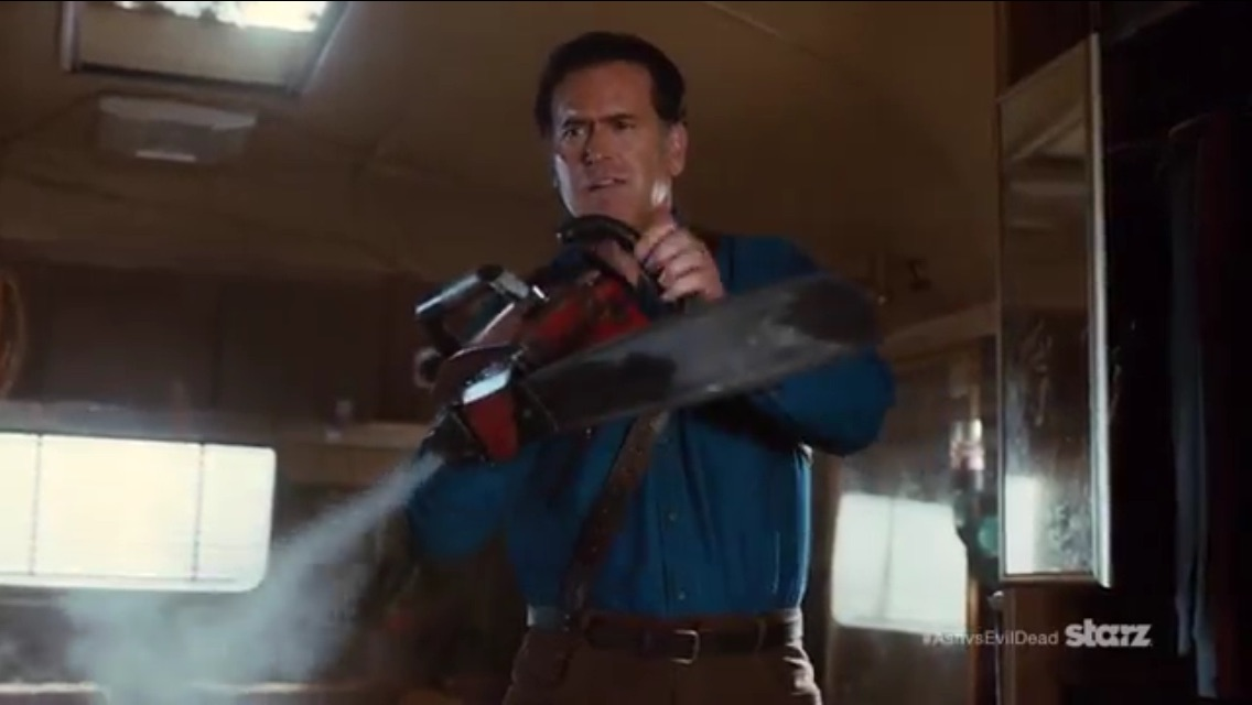 Ash vs Evil Dead Trailer Screenshot