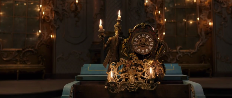 Lumiere and Cogsworth (McGregor and McKellen)